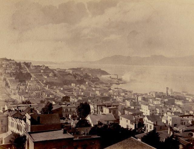 Taber: Golden Gate from Telegraph hill
