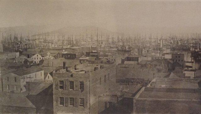 San Francisco Water Front Prior to April 1851