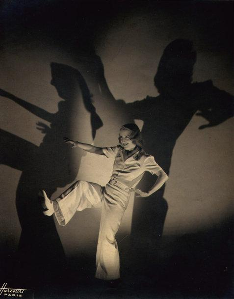 Harcourt Studio: untitled (Woman Dancing with Shadows)