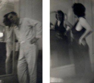 Blurry Man/Blurry Woman in Mirror