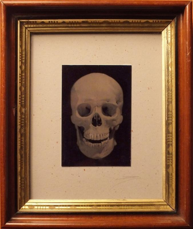 David Sokosh: Skull, Brooklyn - tintype