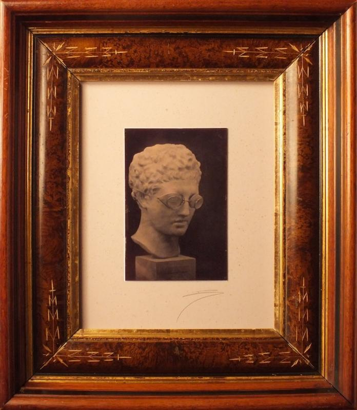 David Sokosh: Hermes, Wearing Goggles, Brooklyn - tintype