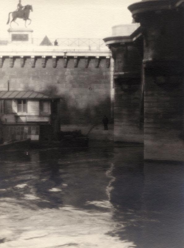 William C. Odiorne: under the bridge, The Seine, Paris