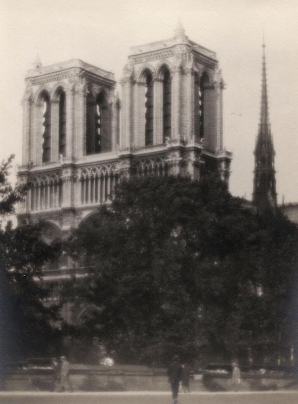 William C. Odiorne: Notre Dame, Paris