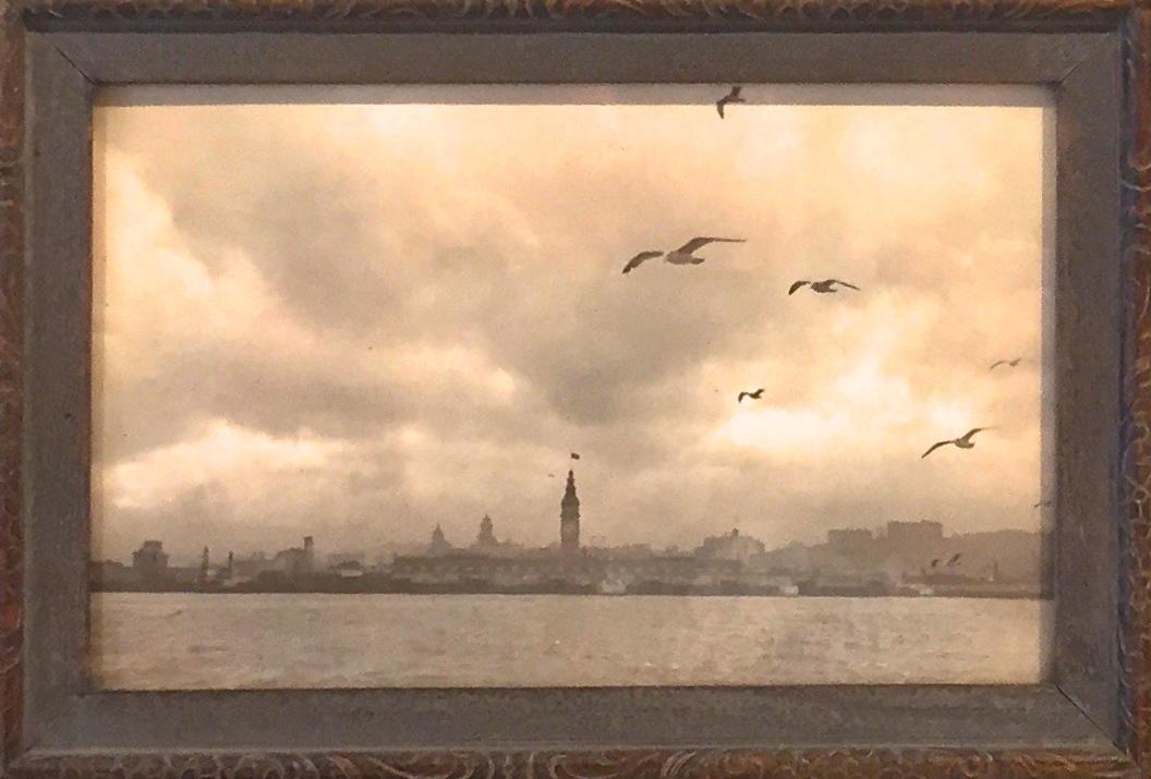 small framed print of San Francisco Skyline