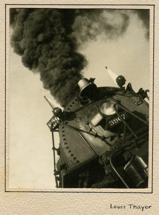 Locomotive - Union Pacific Railroad 3907
