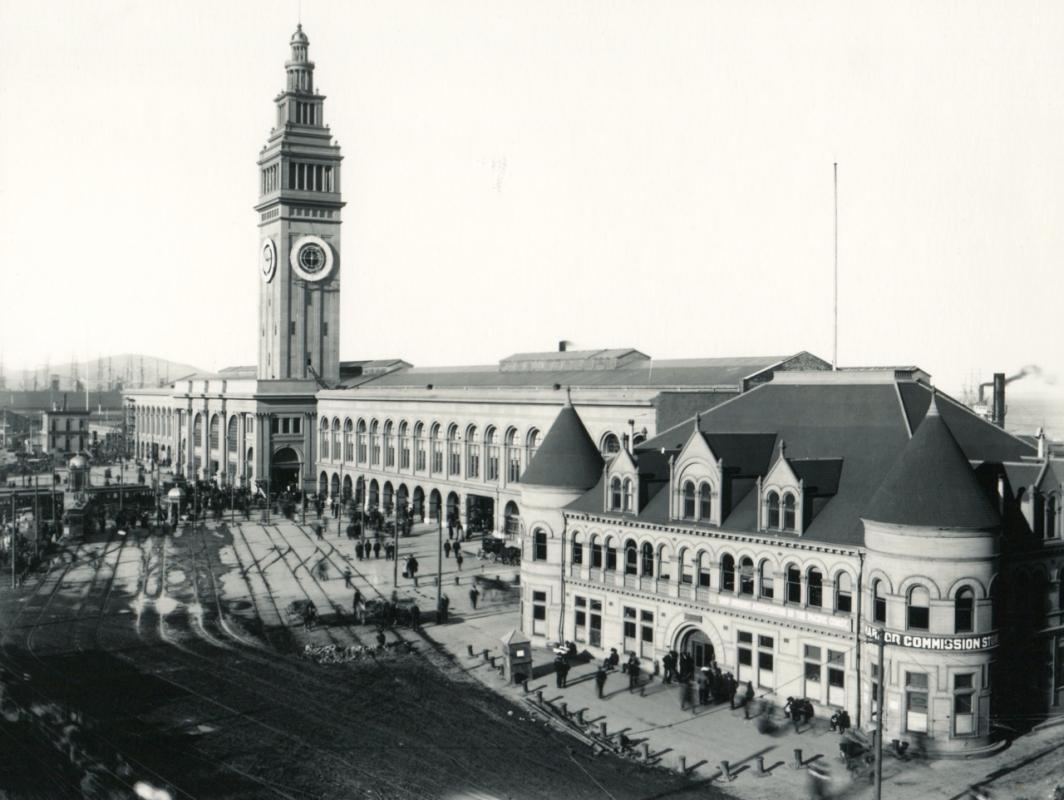 San Francisco Ferry Building, c.1905