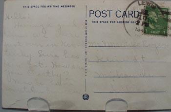 West Baden Springs Hotel West Baden IN Post Card.
