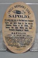 Victorian Trade Card Sapilio Soap 1800's