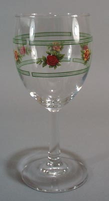Royal Albert Old country Roses water goblet.