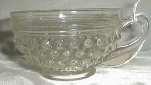 Anchor Hocking Hobnail Coffee Cup, Crystal