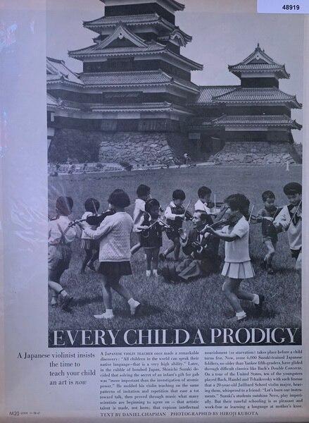 Every Child a prodigy Jan