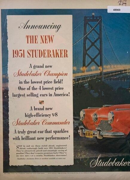 1951 Studebaker a great c