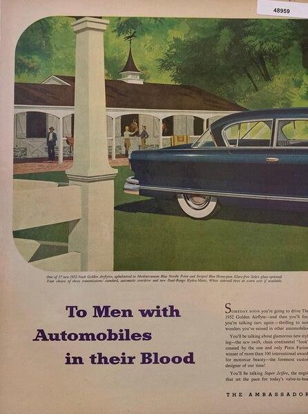1952 Men with automobiles
