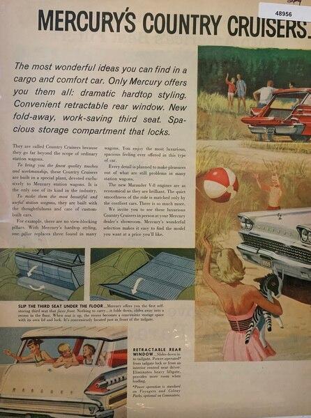 Mercury country cruisers