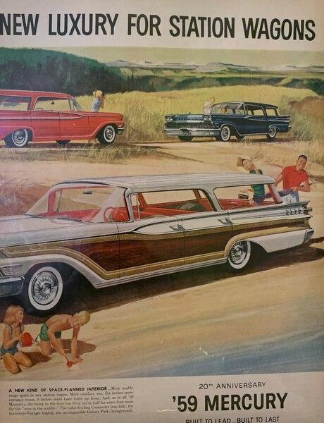 Mercury country cruisers