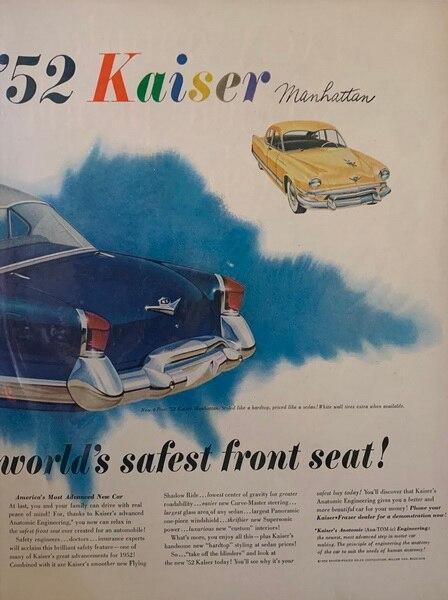 1952 Manhattan kaiser Fra