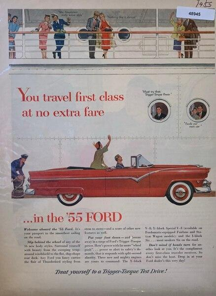 First class 1955 ford, sh