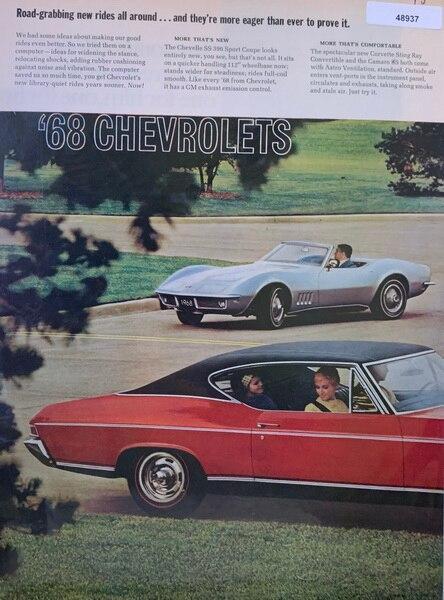 12 pg ad 967 Chevy ad sho