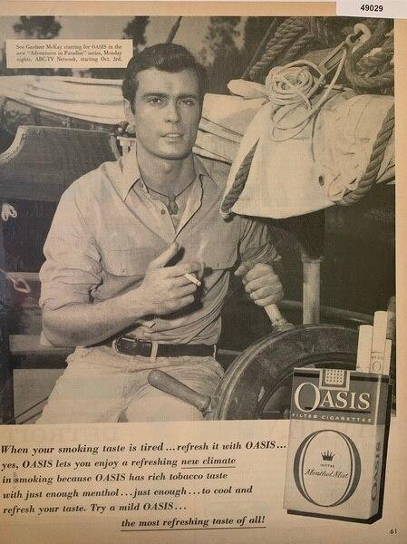 Oasis Cigarettes, shing G