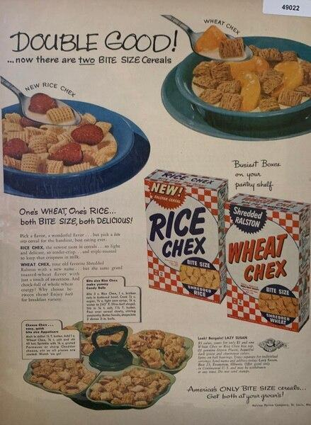 Introducing Rice chex ad