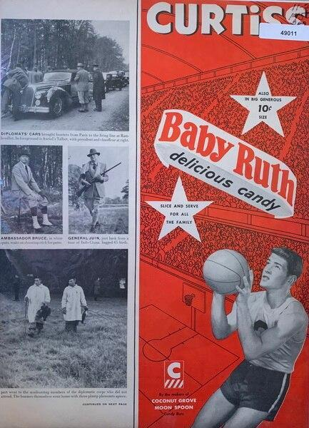 Baby Ruth 10 c ad, Nov 26