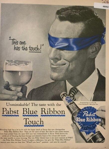 Pabst Blue Ribbon Touch s