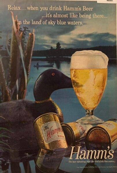 Hamms beer, the land of t