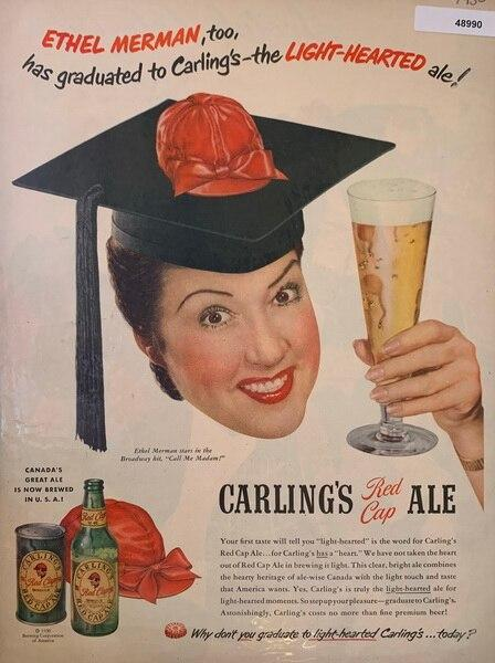 Carlings red cap ale Nov