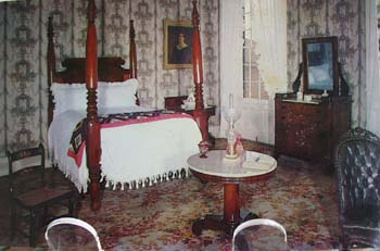 Andrew Jackson Jr's Room Post Card
