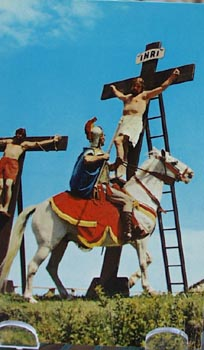 Roman Guard Pierces Side of Jesus PC