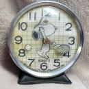 1958 Snoopy wind up clock by Equity