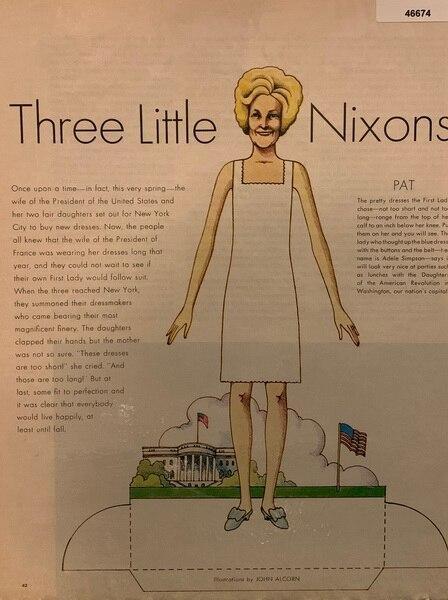 Three Little Nixon's Dresses
