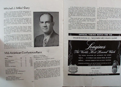 Oct 15, 1949 Bronco Football Program