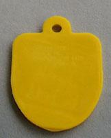 Cracker Jack Key Chain Tag