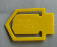Cracker Jack Toy Elephant Book Mark