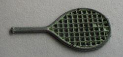 Cracker Jack Tennis Racket Plastic Toy