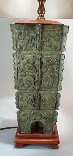 Unique Cast metal oriental lamp