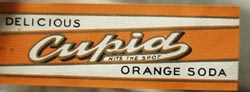 Cupid Orange Soda Bottle Label Small.