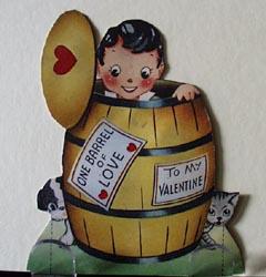 Boy in Barrel Valentine.