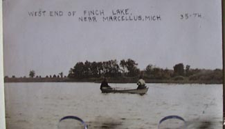 West end of Finch Lake Post Card