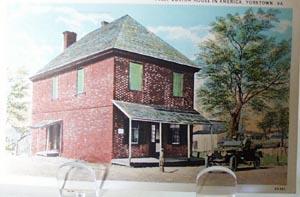 lst Custom House in America Va Postcard