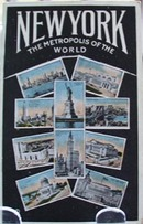 NY Metropolis of the World Postcard.