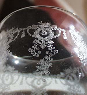 Wine / Claret glass. Just a tiny bit bigger than a cordial