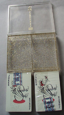 Unopened oriental decks of cards