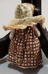 Cival War Era porcelain Doll.