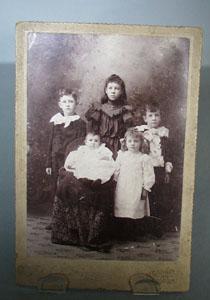 Family of Five Children Photo