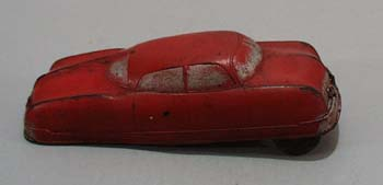Auburn Rubber Car, Streamline red