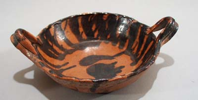 Clay bowl, hand made