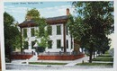 Lincoln Home Springfield Illinois postcard